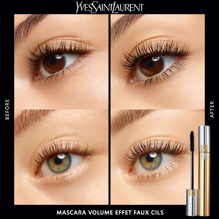 Yves Saint Laurent Volume Effet Faux Cils Mascara 1 Noir Haute Densité