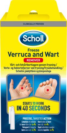Scholl Freeze Vortefjerner 80 ml