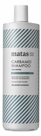 Matas Striber Carbamid Shampoo til Tør og Irriteret Hovedbund Uden Parfume 1000 ml