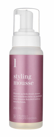 Purely Professional Styling Mousse 1- Volume Fint Hår 250 ml