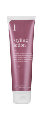 Purely Professional Styling Lotion 1 - Volumegivende med Panthenol 150 ml