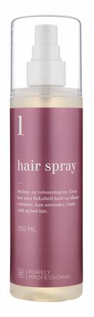 Purely Professional Hair Spray 1 - Allergivenlig 250 ml