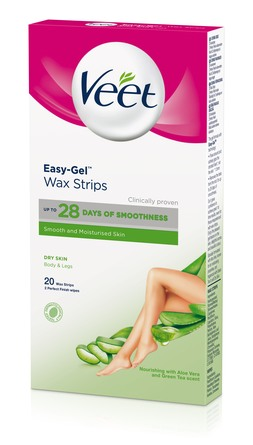 Veet Wax Strips til Tør Hud 20 stk