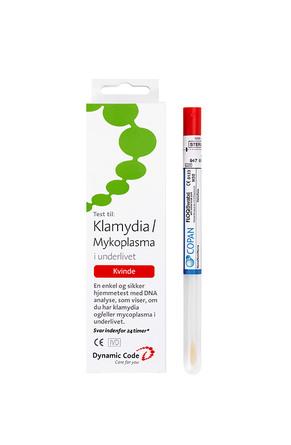 DNA Test Klamydia/Mycoplasma kvinde 1 stk
