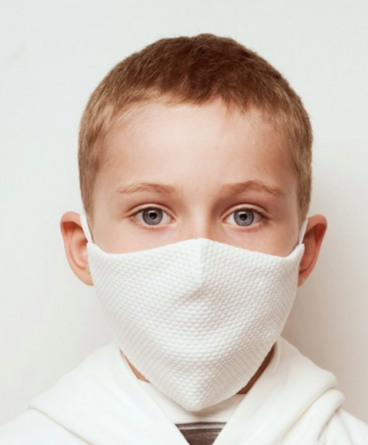 Health Nordic Stofmundbind barn 2-lags 1 stk