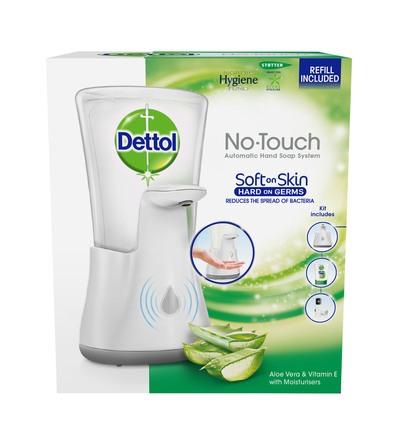 Dettol No Touch Soap Starter Kit Aloe Vera 250 ml