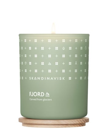 SKANDINAVISK FJORD Scented Candle with lid 200 g.