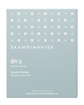 SKANDINAVISK ØY Scented Candle w Lid 200 gr