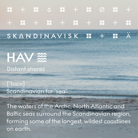SKANDINAVISK HAV Scented Candle w Lid 200 gr