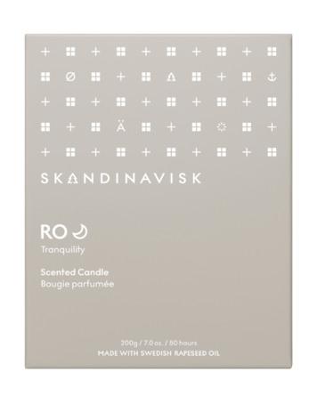 SKANDINAVISK RO Scented Candle w Lid 200 gr
