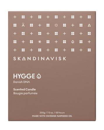 SKANDINAVISK HYGGE Scented Candle w Lid 200 gr