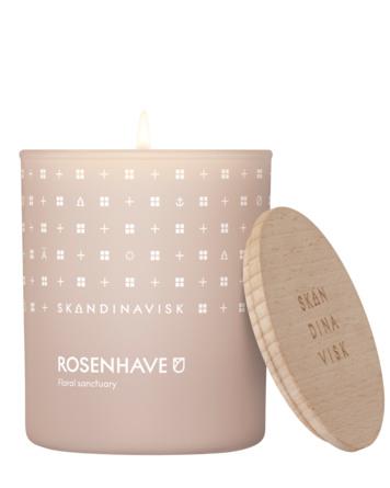 SKANDINAVISK ROSENHAVE Scented Candle m. låg 200 g