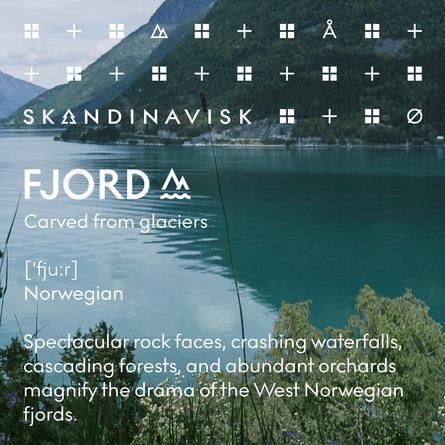 SKANDINAVISK FJORD Scented Candle w Lid 65g