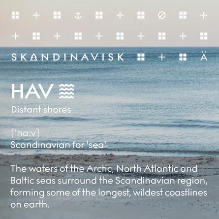 SKANDINAVISK HAV Scented Candle w Lid 65g