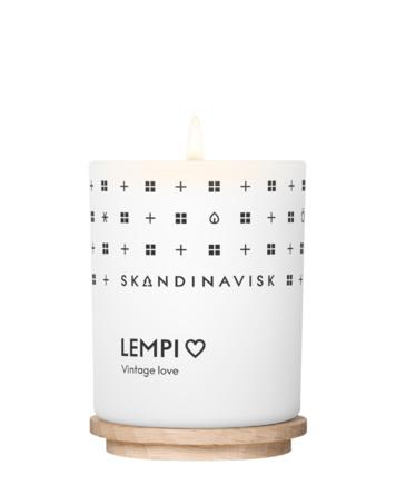 SKANDINAVISK LEMPI Scented Candle w Lid 65g