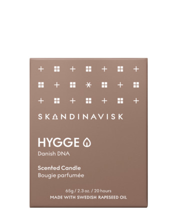 SKANDINAVISK HYGGE Scented Candle w Lid 65g