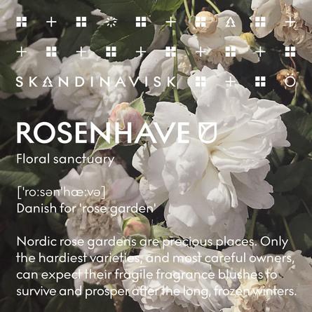 SKANDINAVISK ROSENHAVE Scented Candle w Lid 65g