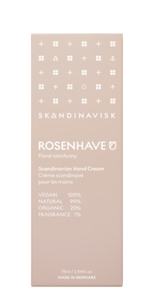SKANDINAVISK ROSENHAVE Hand Cream 75 ml