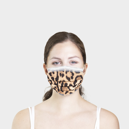 Gillian Jones Fashion Mundbind leopard 10 stk