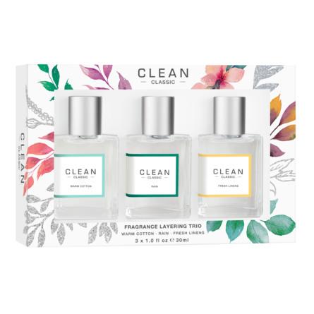 Clean Fragrance Layering Trio Gaveæske 3x30 ml
