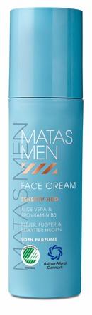 Matas Striber Men Face Cream til Sensitiv Hud Uden Parfume 50 ml
