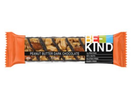 BE-KIND Nøddebar Peanutbutter & Dark Chocolate