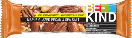 BE-KIND Nøddebar Maple Glazed Pecan & Sea Salt