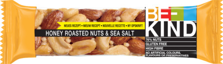 BE-KIND Nøddebar Honey Roasted Nuts & Sea Salt