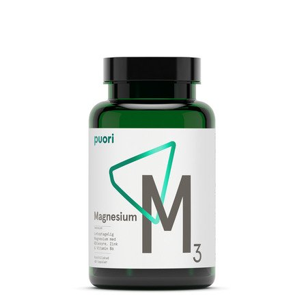 Puori Magnesium M3 60 kapsler