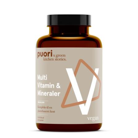Puori Multi Vitamin & Mineraler 60 kapsler