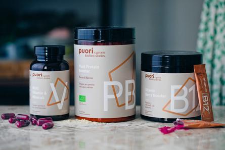 Puori Vitamin B12 Berry Booster 20 stk.
