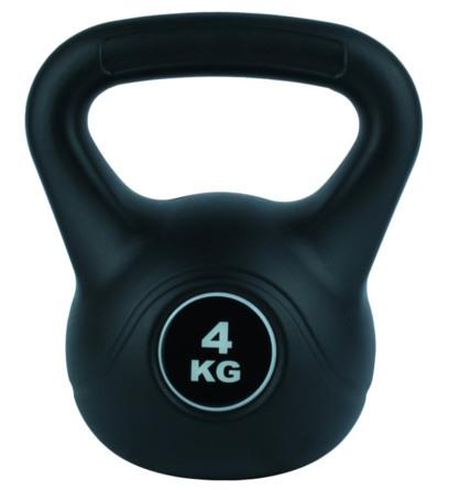 Titan Life træningsudstyr Kettlebell Vinyl 4 kg