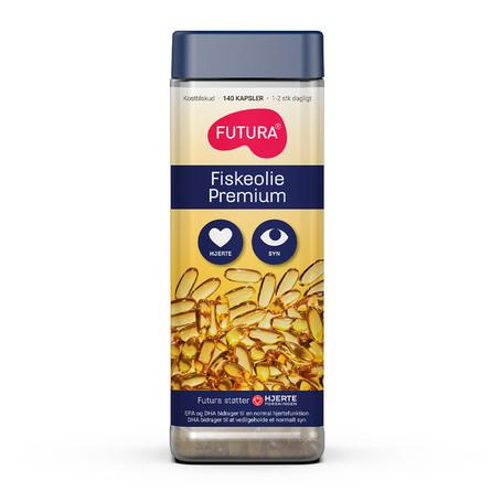 Futura Fiskeolie Premium 140 kapsler