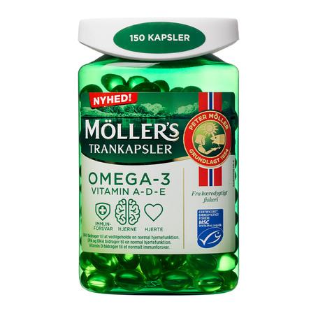 Møllers Trankapsler 150 kapsler