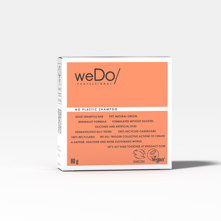 weDo Professional Shampoo Bar 80 g