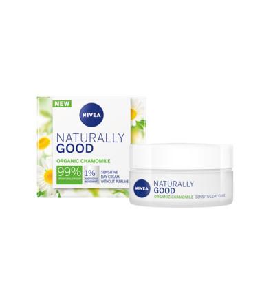 Nivea Naturally Good Sensitive Dagcreme 50 ml