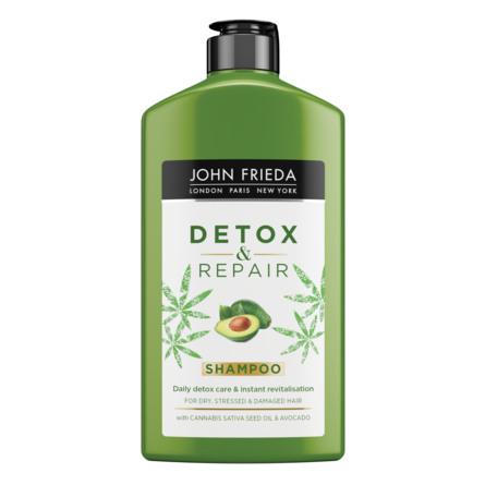John Frieda Detox and Repair Cannabis Shampoo 250 ml