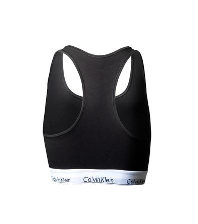 Calvin Klein Undertøj Modern Cotton Plus Bralette Str. 3XL Sort