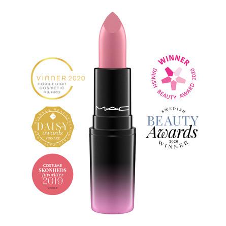 MAC Love Me Lipstick Pure Nonchalance