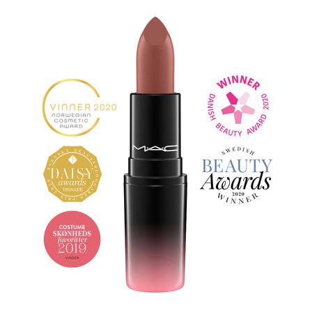 MAC Love Me Lipstick Coffee & Cigs