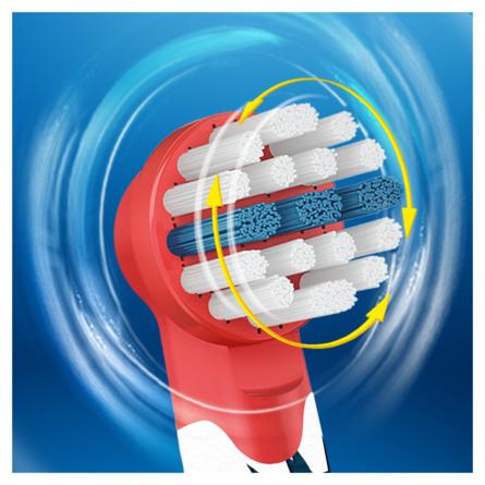 Oral-B Udskiftelige tandbørstehoveder til elektriske tandbørster med Star Wars 4 stk.