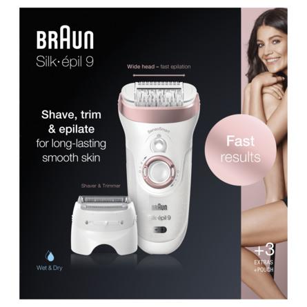 Braun Silk-Epil Wet&Dry Epilator Silk épil serie 9