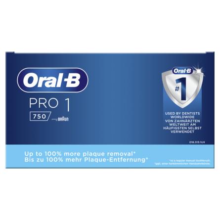 Oral-B El tandbørste + Etui Pro 1 750