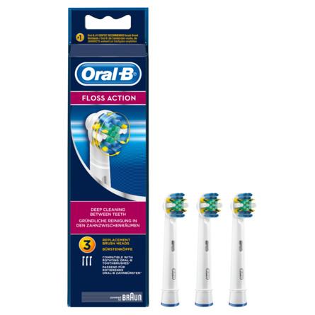 Oral-B FlossAction Udskiftelige Elektriske Børstehoveder 3 stk.