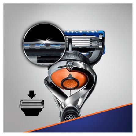 Gillette Fusion5 1 barberskraber + 6 barberblade