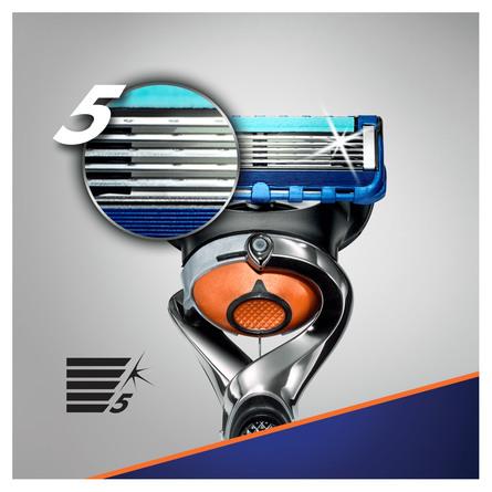 Gillette Fusion5 ProGlide Barberskraber + 1 Barberblad
