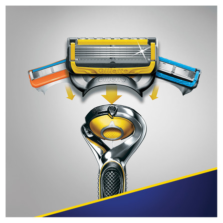 Gillette Proshield Manual barberskraber med ekstra blad