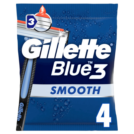 Gillette Blue3 Engangsskrabere 4 stk.