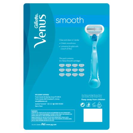 Gillette Venus Smooth barberblade 12 stk