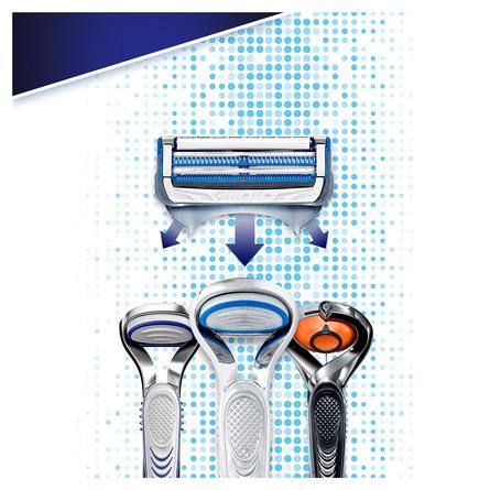 Gillette SkinGuard Sensitive Barberskraber+ 3 Blade
